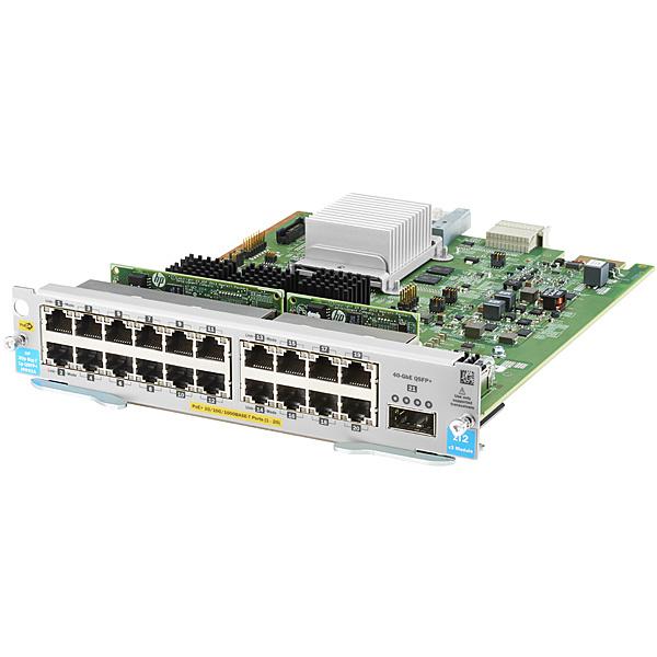 【送料無料】 J9992A HPE Aruba 20port PoE+ / 1port 40GbE QSFP+ v3 zl2 Module【在庫目安:お取り寄せ】| パソコン周辺機器 SFPモジュール 拡張モジュール モジュール SFP スイッチングハブ 光トランシーバ トランシーバ PC パソコン
