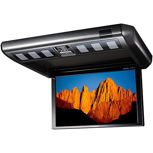 【送料無料】パイオニア TVM-FW1030-B 10.2V型ワイドVGAフリップダウンモニター ブラック【在庫目安:お取り寄せ】