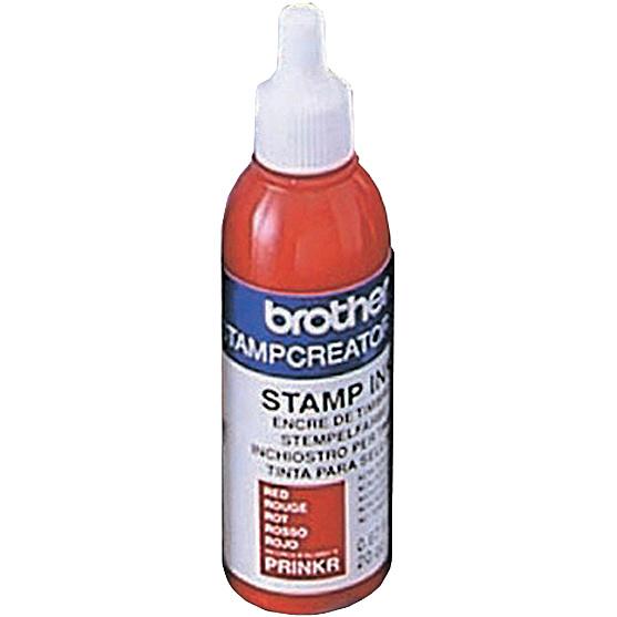 【送料無料】ブラザー PRINKR スタンプクリエータープロ用 補充インク(12本入)赤【在庫目安:お取り寄せ】