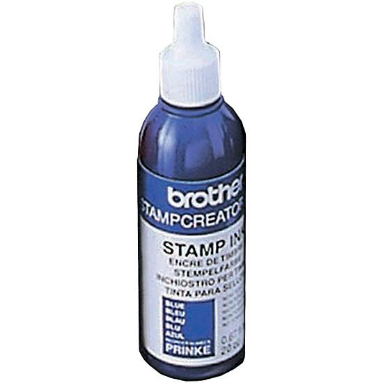 【送料無料】ブラザー PRINKE スタンプクリエータープロ用 補充インク(12本入)青【在庫目安:お取り寄せ】