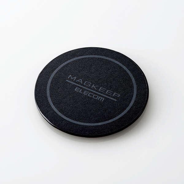 お気に入り ELECOM AMS-DSSTBK マグネットステッカー MAGKEEP iPhone 12シリーズ対応 新品未使用 在庫目安:お取り寄せ ブラック 1枚入り