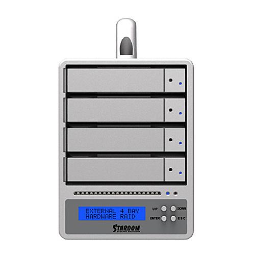 【送料無料】デンノー SR4-SB3+ SOHORAID SR4-SB3 Plus eSATA/ USB3【在庫目安:お取り寄せ】