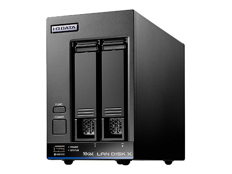 【送料無料】IODATA HDL2-XA2 10GbE&マルチギガビット対応 Linuxベース法人向け2ドライブNAS 2TB【在庫目安:予約受付中】| NAS RAID レイド