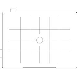 【送料無料】リコーイメージング DG-80 フォーカシングスクリーン 方眼マット (ケース付)【在庫目安:お取り寄せ】