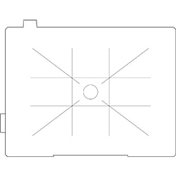【送料無料】リコーイメージング DK-80 フォーカシングスクリーン 黄金分割マット (ケース付)【在庫目安:お取り寄せ】