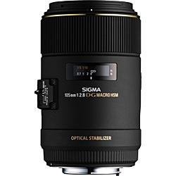 【送料無料】SIGMA 105F28EXDGOSMACROSA MACRO 105mm F2.8 EX DG OS HSM シグマ【在庫目安:お取り寄せ】| カメラ 交換レンズ レンズ 交換 マウント