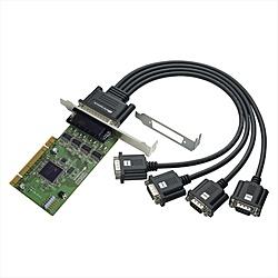 【送料無料】ラトックシステム REX-PCI64D 4ポート RS-232C・デジタルI/ O PCIボード【在庫目安:僅少】