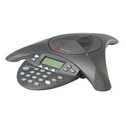 【送料無料】Polycom 2200-16000-002 PPSS-2-BASIC/ 電話会議システムSoundStation2(拡張マイク接続不可/ ディスプレイ有)【在庫目安:僅少】