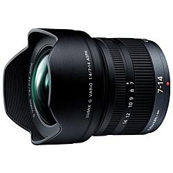 【送料無料】Panasonic H-F007014 デジタル一眼カメラ用交換レンズ LUMIX G VARIO 7-14mm/ F4.0 ASPH.【在庫目安:お取り寄せ】| カメラ ズームレンズ 交換レンズ レンズ ズーム 交換 マウント