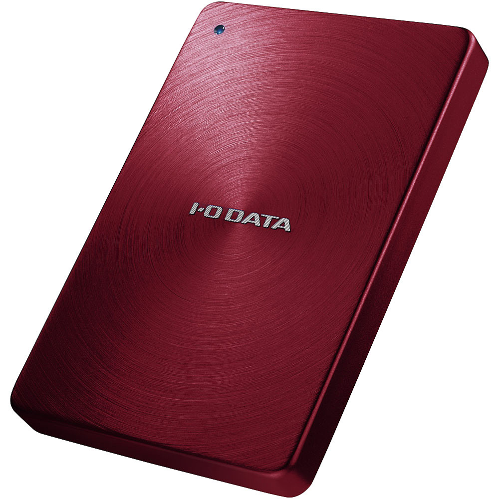 【送料無料】IODATA HDPX-UTA1.0R USB3.0/ 2.0対応 ポータブルハードディスク 「カクうす」 1.0TB レッド【在庫目安:僅少】| パソコン周辺機器 ポータブル 外付けハードディスクドライブ 外付けハードディスク 外付けHDD ハードディスク 外付け 外付 HDD USB