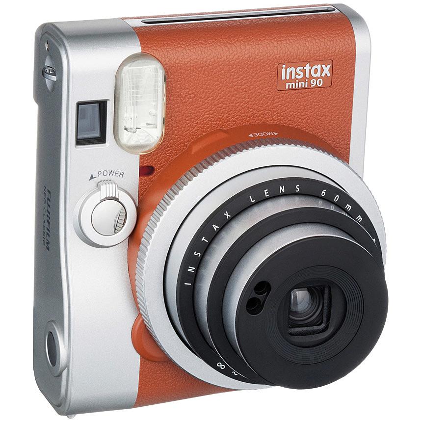 【送料無料】富士フイルム INSTAX MINI 90 BROWN インスタントカメラ 「チェキ」 instax mini 90 ネオクラシック ブラウン【在庫目安:お取り寄せ】