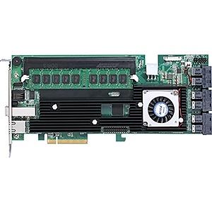 【送料無料】ARECA ARC-1883ix-24 SAS/ SATA RAIDカード 24ポート PCIe3.0、6x SFF-8643、1x SFF-8644【在庫目安:お取り寄せ】| パソコン周辺機器 SATAアレイコントローラー SATA アレイ コントローラー PC パソコン