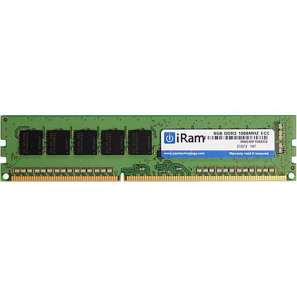【送料無料】iRam Technology IR8GMP1066D3 MacPro 増設メモリ DDR3/ 1066 8GB ECC 240pin U-DIMM【在庫目安:お取り寄せ】| パソコン周辺機器 ワークステーション用メモリー ワークステーション用メモリ SV サーバ メモリー メモリ 増設 業務用 交換