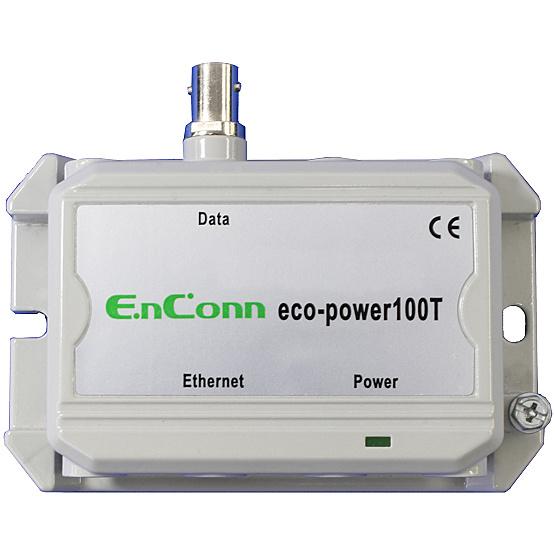 【送料無料】ハイテクインター 173-EN-003 eco-power100T (BNC) PoE Ext over Coax【在庫目安:お取り寄せ】