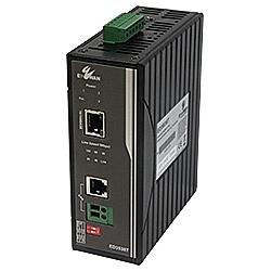 【送料無料】ハイテクインター 171-EW-001 産業用電話線PoE延長装置 ED3538T【在庫目安:お取り寄せ】