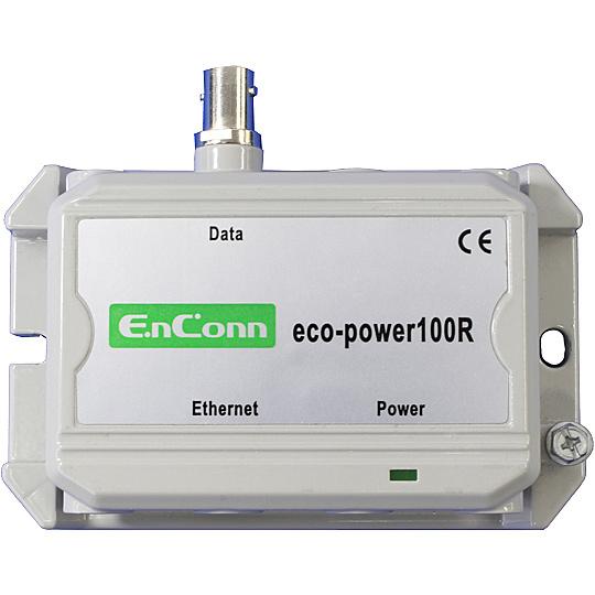 【送料無料】ハイテクインター 173-EN-004 eco-power100R (BNC) PoE Ext over Coax【在庫目安:お取り寄せ】