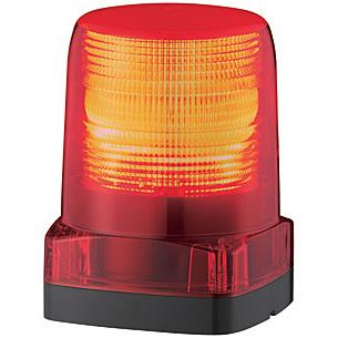 【送料無料】パトライト LFH-48-R LEDフラッシュ表示灯 DC48V/ 赤【在庫目安:お取り寄せ】