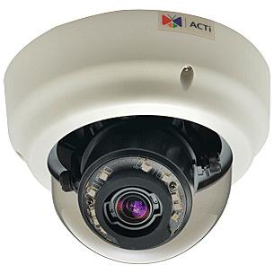 【送料無料】ACTi Corporation B61 5-Megapixel 屋内Zoomドームカメラ(D/ N、Basic WDR)【在庫目安:お取り寄せ】| カメラ ネットワークカメラ ネカメ 監視カメラ 監視 屋内 録画