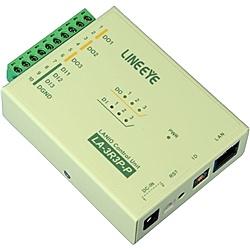 【送料無料】ラインアイ LA-3R3P-P LAN接続型デジタルIOユニット リレー接点3出力/ ドライ接点3入力【在庫目安:お取り寄せ】