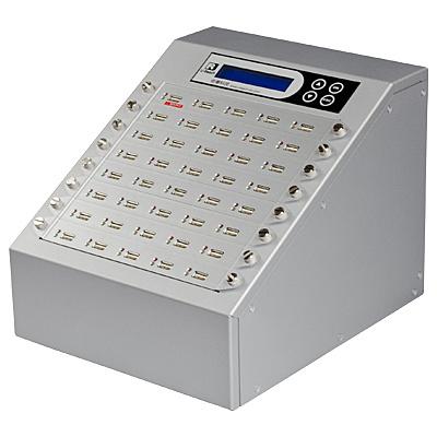 【送料無料】U-Reach Japan 40ポート USBデュプリケータ Intelligent 9 Silver UB940S 1:39のコピーおよび最大39個のUSBメディアの同時消去が可能。転送速度33MB/ 秒【在庫目安:お取り寄せ】| パソコン周辺機器