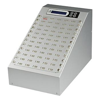 【送料無料】U-Reach Japan 60ポート USBデュプリケータ Intelligent 9 Silver UB960S 1:59のコピーおよび最大59個のUSBメディアの同時消去が可能。転送速度33MB/ 秒【在庫目安:お取り寄せ】| パソコン周辺機器