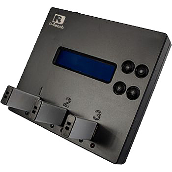 【送料無料】U-Reach Japan UB300 1:2 USBデュプリケータ USBメモリのコピー、消去が可能な小型デュプリケータ。1個のUSBメモリを最大2個に同時コピー メディアチェック機能搭載 転送速度25MB/ 秒【在庫目安:お取り寄せ】| パソコン周辺機器