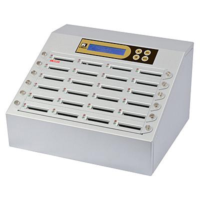 【送料無料】U-Reach Japan 24ポート CFデュプリケータ Intelligent 9 Golden CF924G 1:23のコピーおよび最大23枚のCFの同時消去が可能。ログ出力機能搭載。転送速度65MB/ 秒【在庫目安:お取り寄せ】| パソコン周辺機器