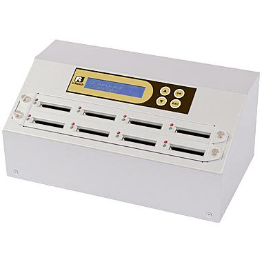 【送料無料】U-Reach Japan 8ポート CFデュプリケータ Intelligent 9 Golden CF908G 1:7のコピーおよび最大7枚のCFの同時消去が可能。ログ出力機能搭載。転送速度65MB/ 秒【在庫目安:お取り寄せ】| パソコン周辺機器