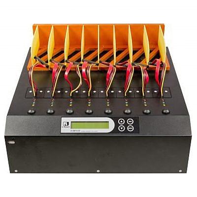【送料無料】U-Reach Japan 1:7 SAS HDD、SATA HDD/ SSDデュプリケータ MTS800-SAS SAS HDDおよびSATA HDD/ SSDのコピー、消去が可能な業務用デュプリケータ。ケーブル接続タイプ 転送速度300MB/ 秒【在庫目安:お取り寄せ】