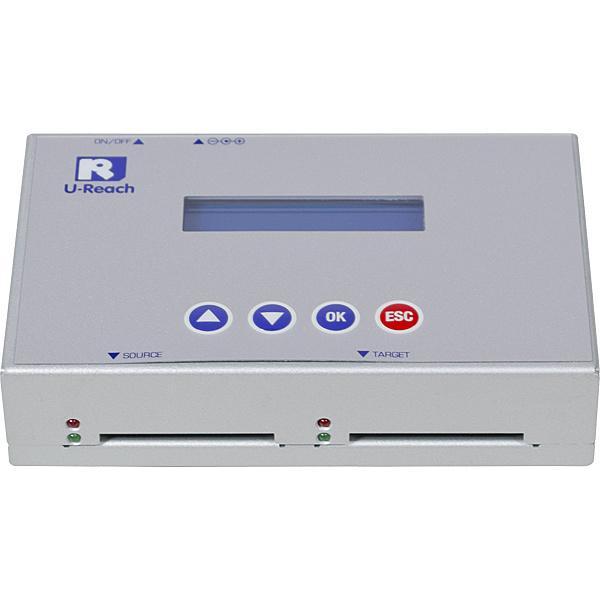 【送料無料】U-Reach Japan 1:1 CFデュプリケータ CF121 CFカードのコピー、消去が可能な小型デュプリケータ。転送速度66MB/ 秒【在庫目安:お取り寄せ】| パソコン周辺機器