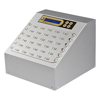 【送料無料】U-Reach Japan 30ポート USBデュプリケータ Intelligent 9 Golden UB930G 1:29のコピーおよび最大29個のUSBメディアの同時消去が可能。ログ出力機能搭載。転送速度33MB/ 秒【在庫目安:お取り寄せ】| パソコン周辺機器