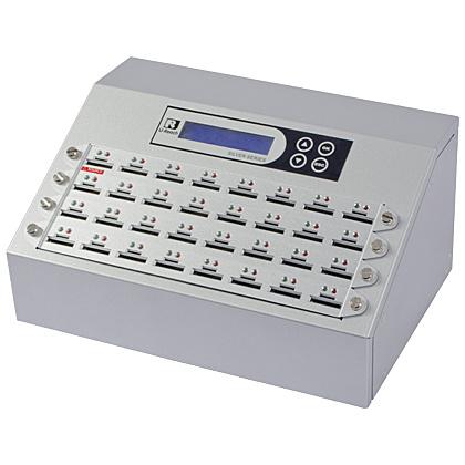 【送料無料】U-Reach Japan 32ポート SDデュプリケータ Intelligent 9 Silver SD932S 1:31のコピーおよび最大32枚のSDカードの同時消去が可能。転送速度33MB/ 秒【在庫目安:お取り寄せ】| パソコン周辺機器