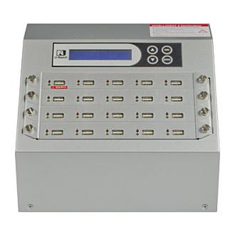 【送料無料】U-Reach Japan 20ポート USBデュプリケータ Intelligent 9 Silver UB920S 1:19のコピーおよび最大19個のUSBメディアの同時消去が可能。転送速度33MB/ 秒【在庫目安:お取り寄せ】| パソコン周辺機器