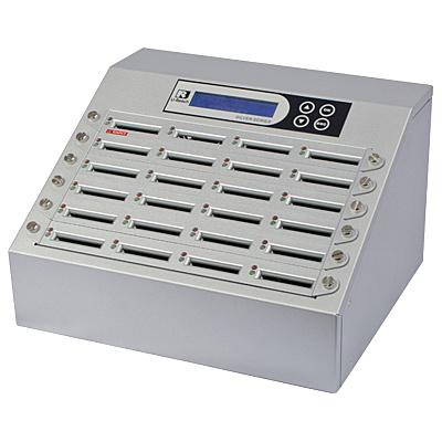 【送料無料】U-Reach Japan 24ポート CFデュプリケータ Intelligent 9 Silver CF924S 1:23のコピーおよび最大23枚のCFの同時消去が可能。転送速度65MB/ 秒【在庫目安:お取り寄せ】| パソコン周辺機器