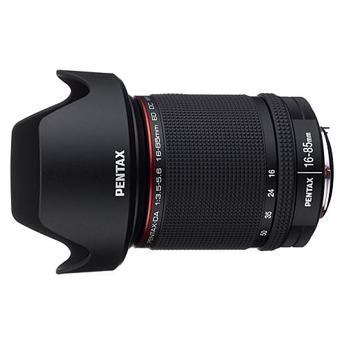 【送料無料】 HD DA16-85mm/3.5-5.6ED DC WR 標準ズームレンズ HD PENTAX-DA 16-85mmF3.5-5.6ED DC WR (フード付)【在庫目安:お取り寄せ】| カメラ ズームレンズ 交換レンズ レンズ ズーム 交換 マウント