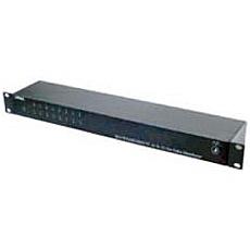 【送料無料】ジョブル CD1632HD AHD/ HD-TVI/ HDCVI/ コンポジット対応 16入力各2出力映像分配器【在庫目安:お取り寄せ】