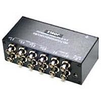 【送料無料】ジョブル CD408HD AHD/ HD-TVI/ HDCVI/ コンポジット対応 4入力各2出力映像分配器【在庫目安:お取り寄せ】