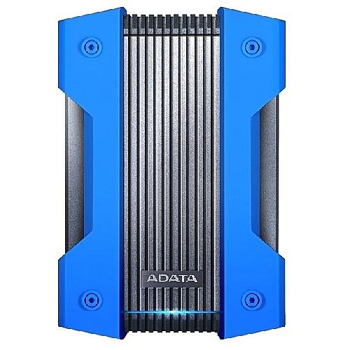 【送料無料】A-DATA Technology AHD830-4TU31-CBL 外付けHDD HD830 4TB ポータブル USB3.2 Gen1対応 ブルー 軍用耐衝撃 防水 防塵 / 3年保証【在庫目安:お取り寄せ】| パソコン周辺機器