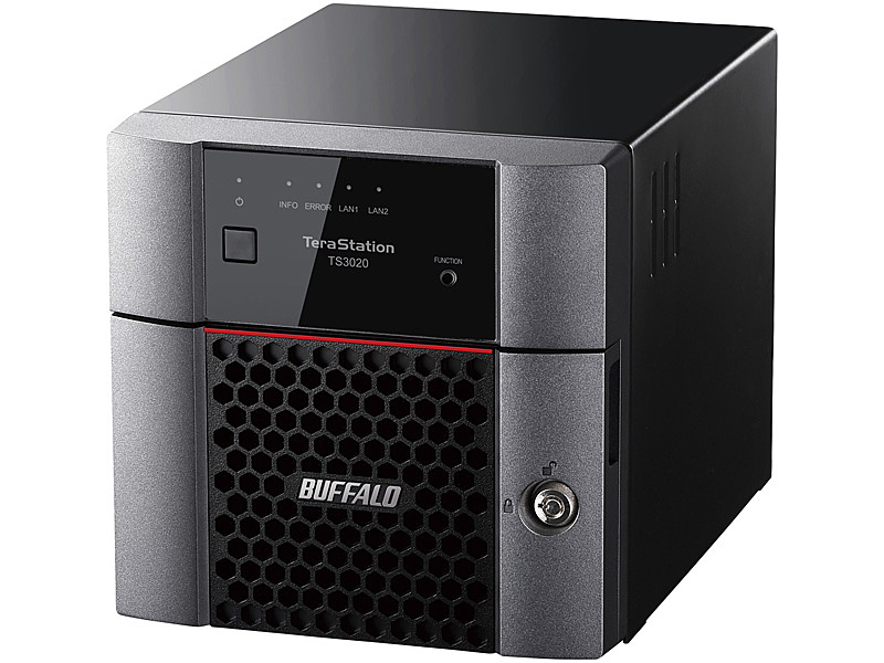 【送料無料】バッファロー TS3220DN0602 TeraStation TS3220DNシリーズ 2ベイデスクトップNAS 6TB【在庫目安:僅少】| NAS RAID レイド