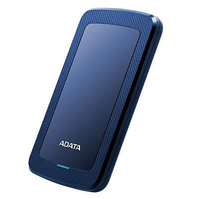 【送料無料】A-DATA Technology AHV300-1TU31-CBL 外付けHDD HV300 1TB ポータブル USB3.2 Gen1対応 ブルー スリムタイプ / 3年保証【在庫目安:お取り寄せ】| パソコン周辺機器