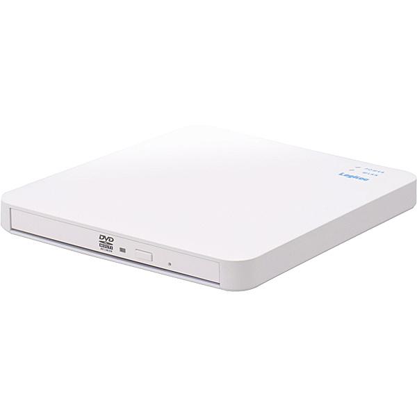 【送料無料】Logitec LDR-PS5GWU3RWH WiFi対応CD録音ドライブ/ 5GHz/ iOS_Android対応/ USB3.0/ ホワイト【在庫目安:お取り寄せ】