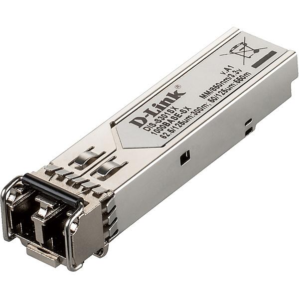 【送料無料】D-Link DIS-S301SX DISシリーズ専用SFPモジュール、1000BASE-SX (LCコネクタ) 2芯マルチモード 動作温度-40~85℃、伝送距離 最長550m、1年保証【在庫目安:お取り寄せ】| パソコン周辺機器 SFPモジュール