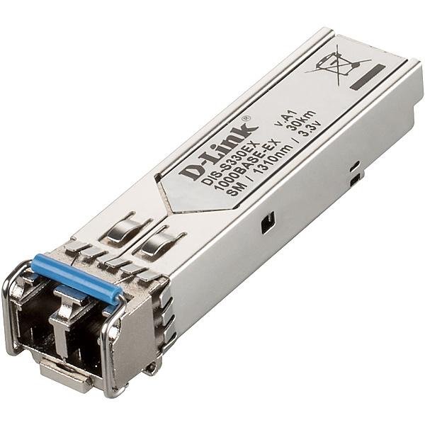 【送料無料】D-Link DIS-S330EX DISシリーズ専用SFPモジュール、1000BASE-EX (LCコネクタ) 2芯シングルモード 動作温度-40~85℃、伝送距離 最長30km、1年保証【在庫目安:お取り寄せ】| パソコン周辺機器 SFPモジュール