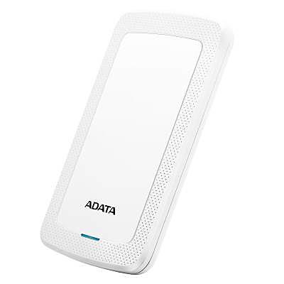 【送料無料】A-DATA Technology AHV300-2TU31-CWH 外付けHDD HV300 2TB ポータブル USB3.2 Gen1対応 ホワイト スリムタイプ / 3年保証【在庫目安:お取り寄せ】| パソコン周辺機器