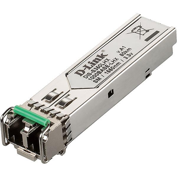 【送料無料】D-Link DIS-S350LHX DISシリーズ専用SFPモジュール、1000BASE-LH (LCコネクタ) 2芯シングルモード 動作温度-40~85℃、伝送距離 最長50km、1年保証【在庫目安:お取り寄せ】| パソコン周辺機器 SFPモジュール
