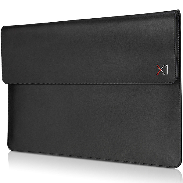 【送料無料】Lenovo 4X40U97972 ThinkPad X1 Carbon/ Yoga用レザー スリーブケース【在庫目安:お取り寄せ】| サプライ インナーバッグ インナー バッグ 落ち運び
