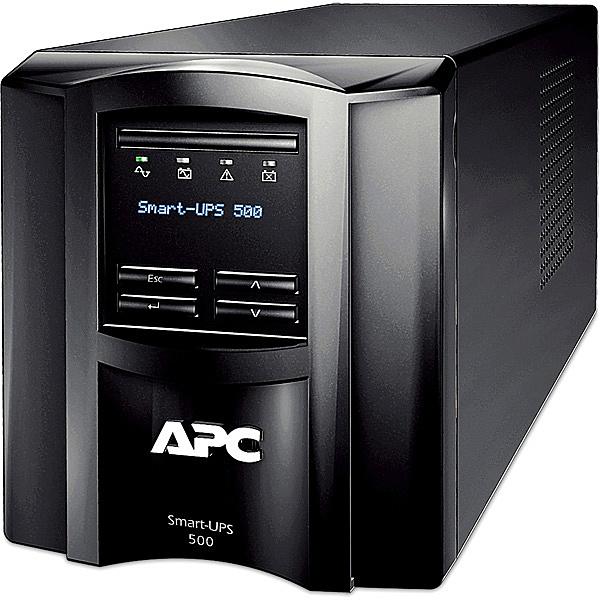 【送料無料】シュナイダーエレクトリック SMT500J7W APC Smart-UPS 500 LCD 100V 7年保証【在庫目安:お取り寄せ】