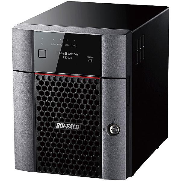 【送料無料】バッファロー TS3420DN0804 TeraStation TS3420DNシリーズ 4ベイデスクトップNAS 8TB【在庫目安:お取り寄せ】| NAS RAID レイド
