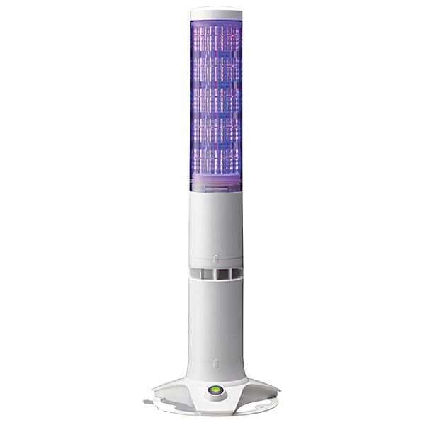 【送料無料】パトライト LA6-5DSNWB-POE 積層情報表示灯 据置きタイプ・クリアスイッチ付【在庫目安:お取り寄せ】| パソコン周辺機器 積層信号灯 監視用表示灯 LED表示灯 ネットワーク 監視 NMS プログラム 自作 システム PC パソコン