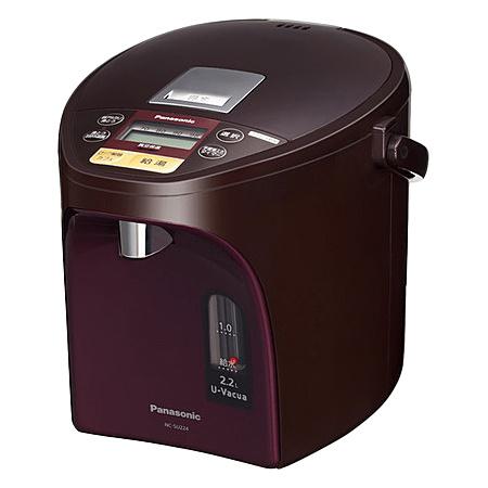 【送料無料】Panasonic NC-SU224-T マイコン沸騰ジャーポット 2.2L (ブラウン)【在庫目安:僅少】